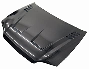 Amazon VIS Racing OEQ 698 Black Carbon Fiber Hood Cyber