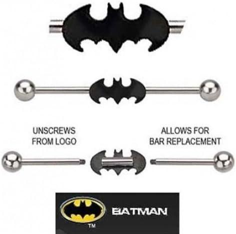 Bat Industrial piercing earring Industrial jewelry piercing bat Industrial Barbell Industrial barbell