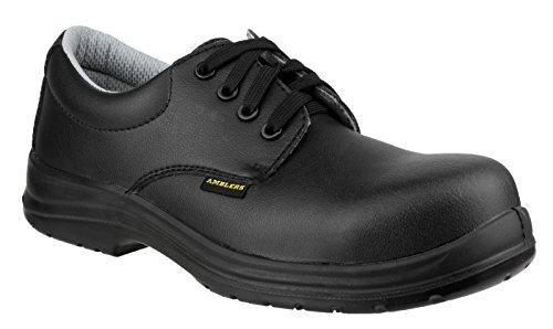 Amblers Safety - Calzado de protección para hombre Negro negro Negro - negro