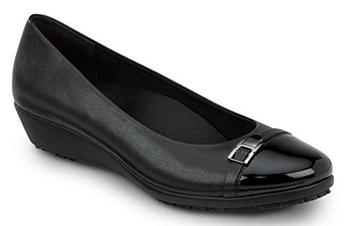 clearance online SR Max Isabela Women's Slip Resistant Dress Wedge Shoe Black for nice online pL5n9n96l