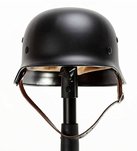 9milelake Black Ww2 German Elite Wh Army M35 M1935 Steel Helmet Stahlhelm Black by 9milelake