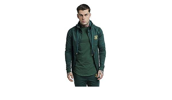 Sik Silk Chaqueta Hombre Verde XS: Amazon.es: Ropa y accesorios