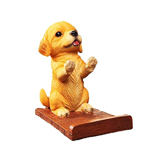 Puppy Dog Cell Phone Stands Smartphone Holder for Desk Golden Retriever