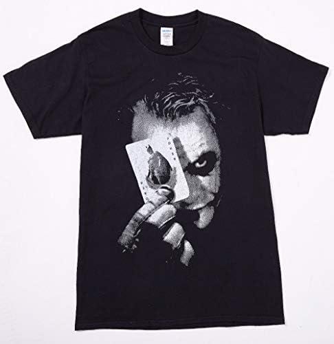 Younicos 배트맨 조 커 Joker Batman T 셔츠 블랙 남성용 / younicos Batman Joker Batman Joker T-shirt Black Men