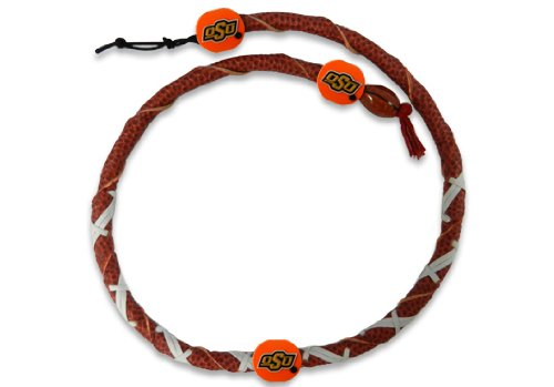 Necklace Spiral Classic Football - NCAA Oklahoma State Cowboys Classic Spiral Football Necklace