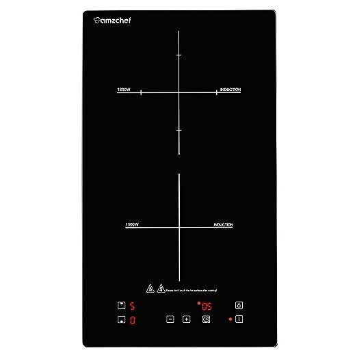 Amzchef Dominuo - Hornillo de inducción (3300 W): Amazon.es ...
