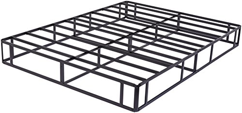 AmazonBasics Steel Mattress Foundation / Alternative to Traditional Box Spring - 9-Inch, Queen