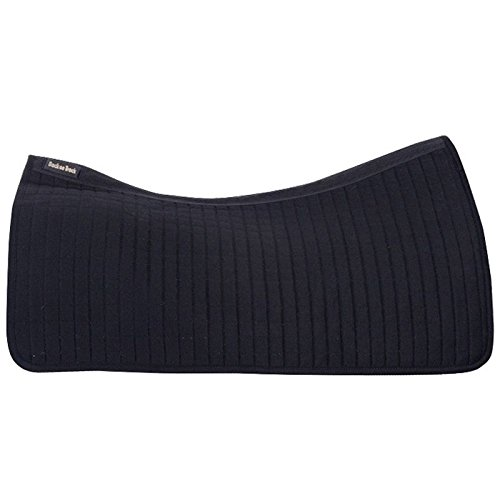 Back on Track Therapeutic Horse Western Pad, 31 by 30-Inch (Back Saddle Pad)