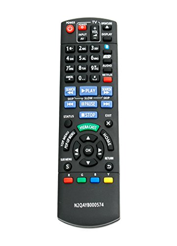 New N2QAYB000574 Replaced Remote fit for Panasonic DMP-BD...