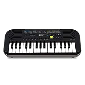 Casio SA-47A Electronic Keyboard, Black (32 Keys)