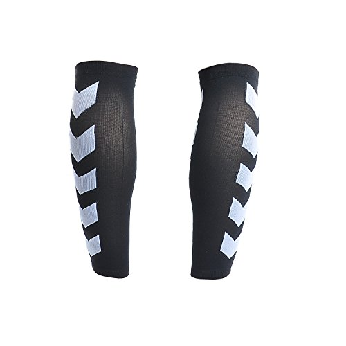 Faladi High Performance Graduated Calf Compression Sleeves for Men& Women (1 Pair)-Help Relief Shin Splints, Calf Strain and Reduce Fatigue -Great for Running,Cycling,Maternity,Travel&More (L/XL) by Faladi (Image #5)
