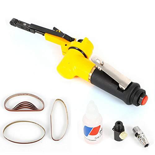 Handheld Sander Air Tools Pneumatic Belt Sander Grinder With 2PCS Sanding Belts