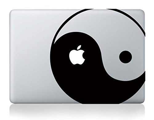 yin yang macbook decal - 1