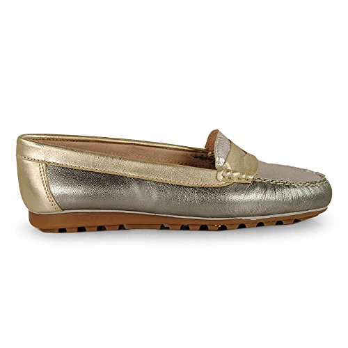 Esther Mendez - Mocasin Antifaz Multi Metal 2