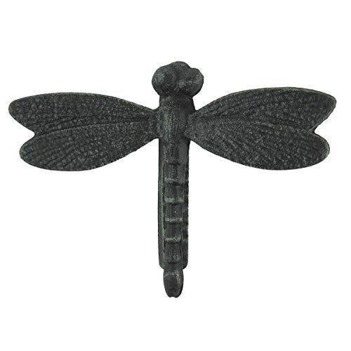 Solid Brass Antique Verdigris Dragonfly Doorknocker