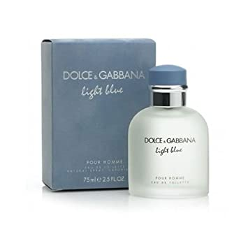 5c78979b Buy Dolce & Gabbana Light Blue Pour Homme EDT for Men, 125ml Online at Low  Prices in India - Amazon.in