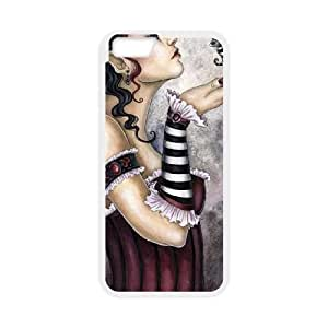 iPhone 6 Plus 5.5 Inch Cell Phone Case White Fae Risque Lvssg