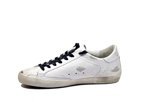 Golden Goose Superstar Bianco Tex Flower Expreso Rápido 4K3alMsxh