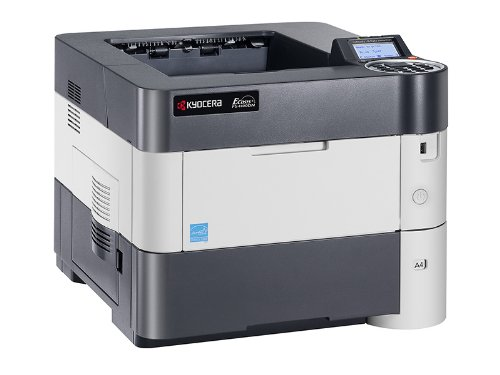 Kyocera 1102MT2US0 Model ECOSYS FS-4100DN Black & White Network Laser Printer, 47 Pages per Minute, 5 Line LCD Display Panel, 256MB RAM, Power PC 465S/750MHz CPU, 600 x 600 dpi, Up To Fine 1200 dpi by Kyocera (Image #4)