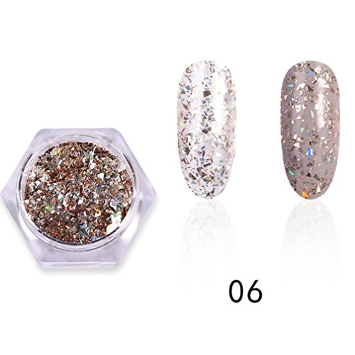 Yellow Gold Duo - Nail Polish,Mirror Plating Gold Paste Metal Color Stainless Steel DIY Cosmetic Nail Art Top Coats OrganizerSolid State for Nail Gel Set-Non Toxic Chemical Uv Yellow Polish,Safe and Effective (F)