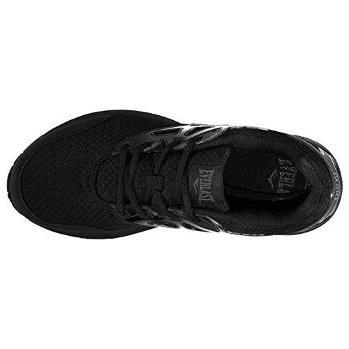 Original Chaussures Everlast Yon Caged Baskets pour homme Noir Chaussures de sport Sneakers CeolIk