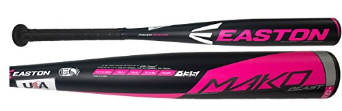 Easton Mako Beast Composite USA Baseball Approved Pink Tee Ball Bat -13.5oz 2017 (26