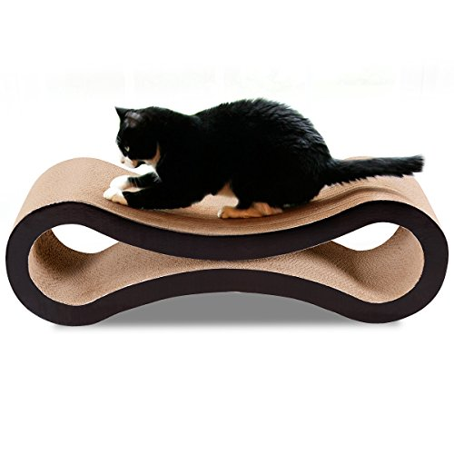 Ultimate Cat Scratching Post - Giantex Pet Ultimate Kitten Toy Cat Scratcher Lounge Pad Scratching Board Post Claw
