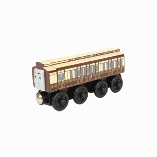 Thomas & Friends Wooden Railway by Learning Curve - Old Slow Coach (& Scrap Friends Yard Thomas)
