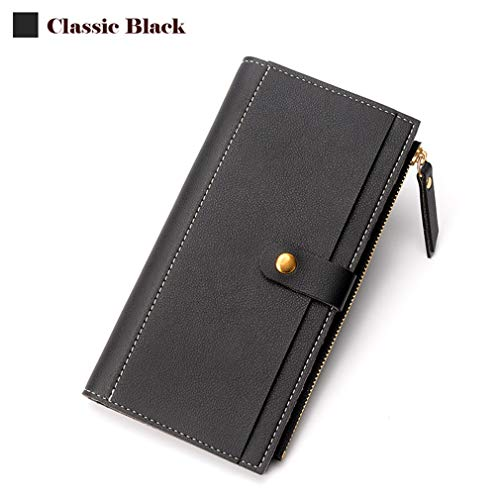 Fashion Women Wallet Elegant Female Purse Soft Leather Card Purse Long Phone Pocket Wallets by WUDEF