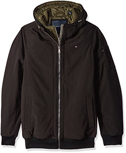 Tommy Hilfiger Men's Size Soft Shell Fashion Bomber with ...