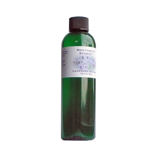 Northwest Scents Lavender Garden Hair Oil for Black, African American, Afro Caribbean, Dry, Coarse, and Highly Textured Hair - 4.0 oz bottle