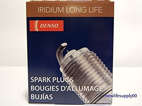 DENSO # 3444 Iridium LONG LIFE Spark Plugs -- SC20HR11 ----- 4 PCS * NEW * by Denso: Amazon.es: Coche y moto