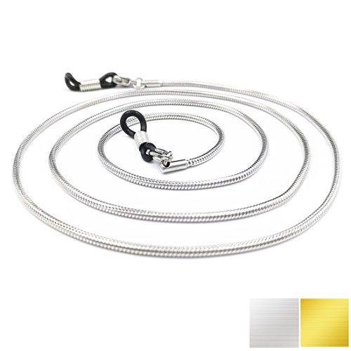 Eyeglass Holder - Kalevel Stainless Steel Eyeglass Chains Holders Women - Eyeglasses Female