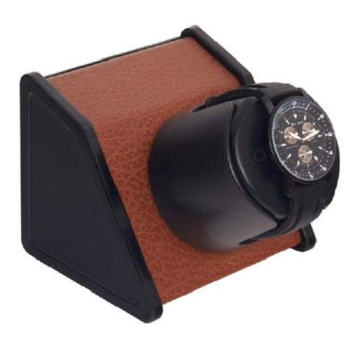 Sparta Open Lithium 1 Brown Leatherette Watchwinder by Orbita Model W05530