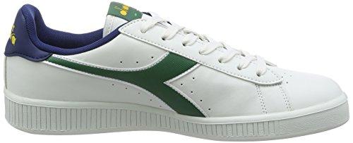 Diadora Unisex-Erwachsene Game P Sneaker Low Hals, Weiß, 38 EU Bianco