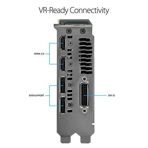 ASUS GeForce GTX 1070 TI 8GB GDDR5 Turbo Edition VR Ready DP HDMI DVI-D Graphics Card (TURBO-GTX1070TI-8G) by Asus (Image #3)