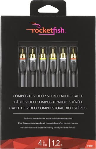 Composite Video Cable RF-G1201 4 Ft