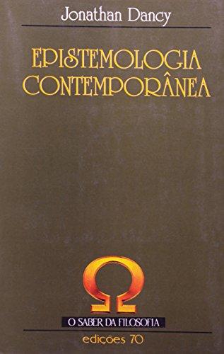 Epistemologia Contemporânea