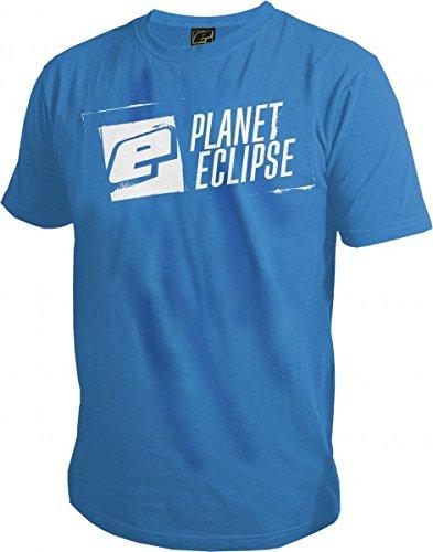 - Planet Eclipse Pro-Formance T-Shirt - Stencil (Blue, Large)