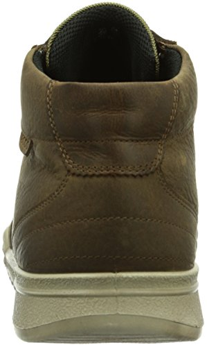 cheap affordable eastbay ECCO Men's Fraser Hi-Top Trainers Navajo Brown/Cocoa Brown (Navajo Brown/Cocoa Brown55737) bSfzuOgrZk