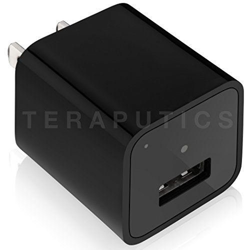 The Official 1080P Spy Camera Charger w/ True HD - 32GB Memory - No Blinking Lights - AC Power Adapter Wall Plug, Professional Stealth Hidden, PC/MAC, Real 1920 x 1080P HD Video - The Perfect GIFT (Spy Camera Inside Car compare prices)