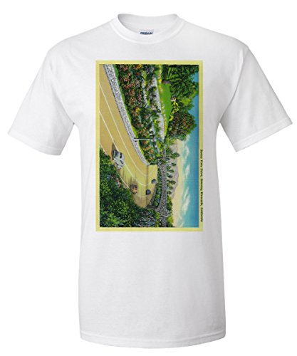 Buena Vista Drive, Entering Riverside (White T-Shirt XX-Large) (Vista Buena Drive)