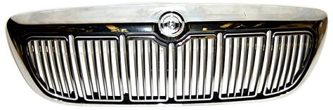 - OE Replacement Mercury Grand Marquis Grille Assembly (Partslink Number FO1200353)