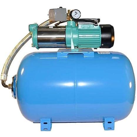 Hauswasserwerk  Wasserpumpe 400V 1300-2200W  Gartenpumpe Druckschalter Manometer