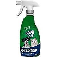 Spray Eliminador de Manchas e Odores Odorout para Cães e Gatos - 480ml