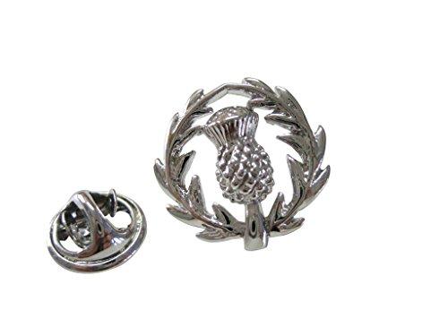 (Kiola Designs Scottish Thistle Lapel Pin)