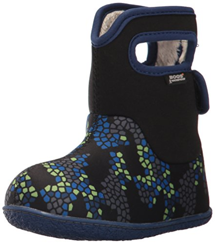 Multi Penguins Baby Classic Snow Black Bogs Boot Winter axpnxd0