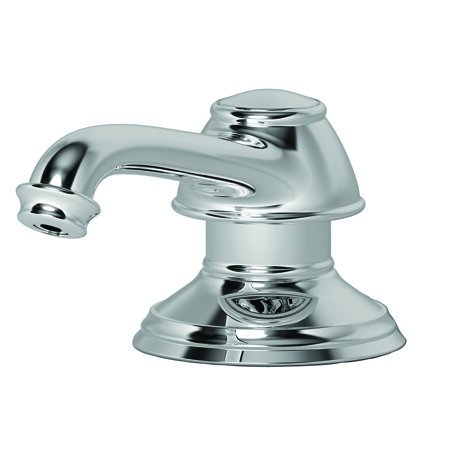 Newport Brass 2-797/04 Jacobean Replacement Pump Head for Soap and Lotion Pump, Satin Brass