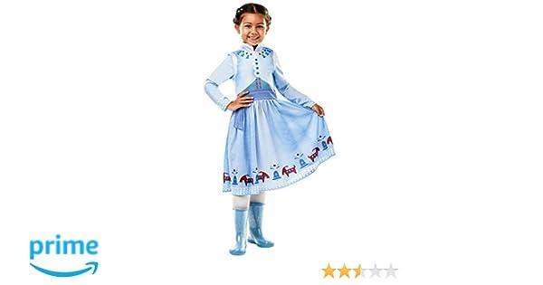 Frozen - Disfraz de princesa Anna para niña, infantil 3-4 años ...