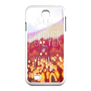 wugdiy New Fashion Cover Case for SamSung Galaxy S4 I9500 with custom Forever Young